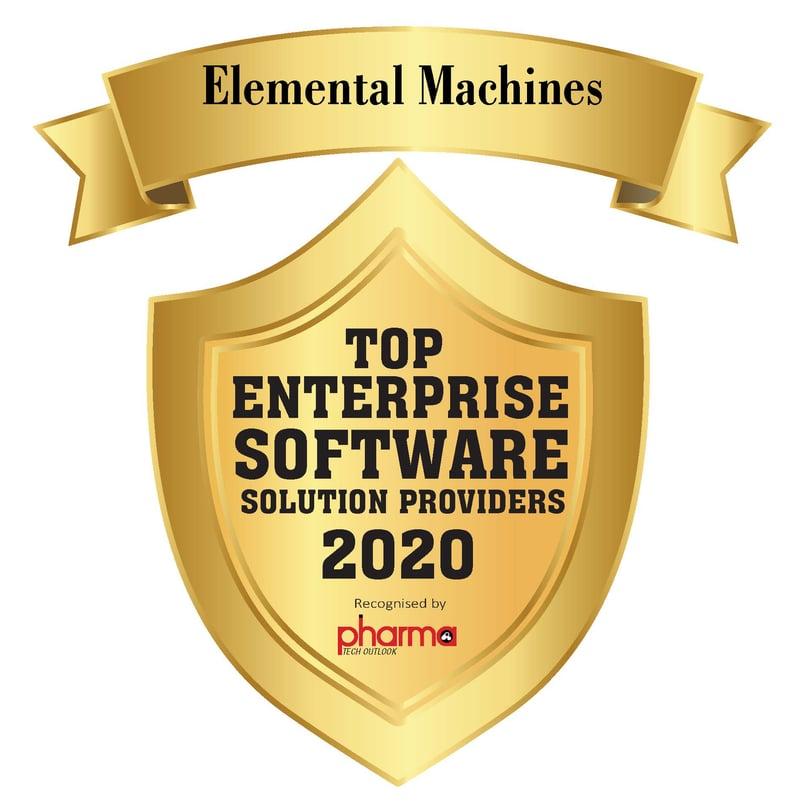 Elemental Machines Award logo