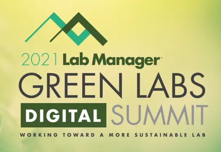 Lab Manager Green Labs Digital Summit - July 20-21, 2021